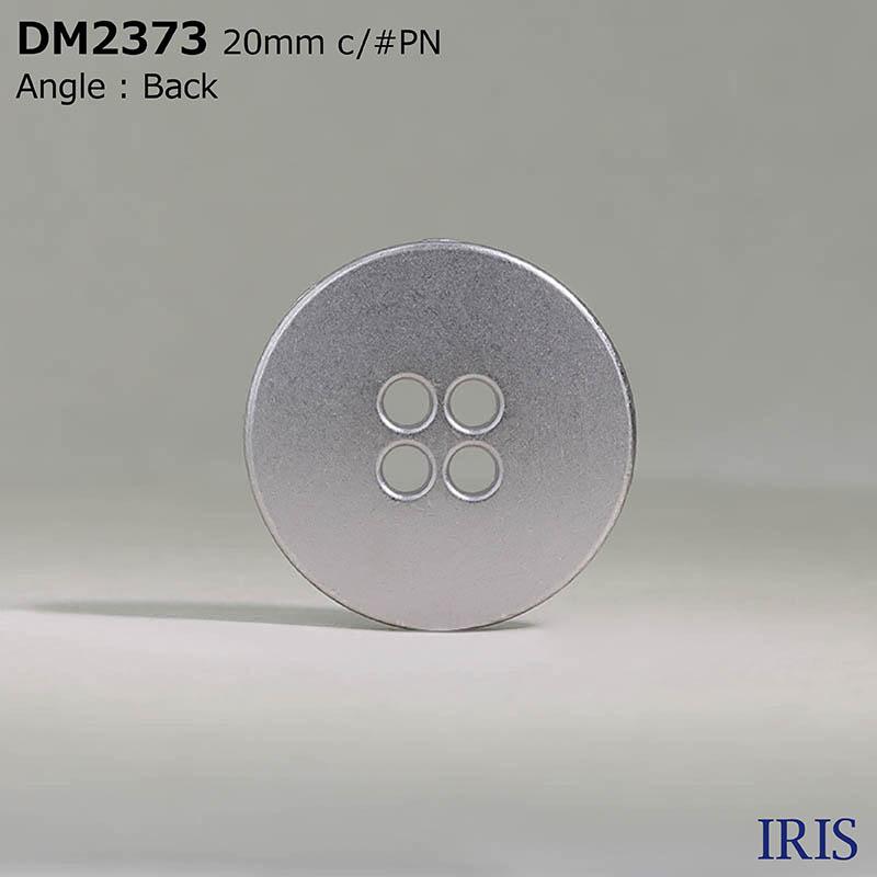 DM2373 ダイカスト 表穴4つ穴ボタン  2サイズ5色展開