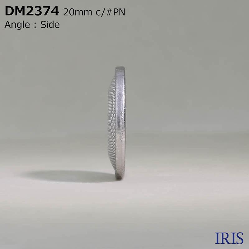 DM2374 ダイカスト 表穴4つ穴ボタン  2サイズ5色展開