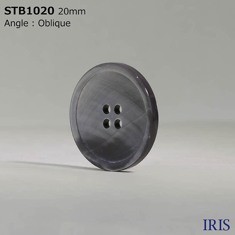 STB1020 高瀬貝 表穴4つ穴ボタン  4サイズ1色展開