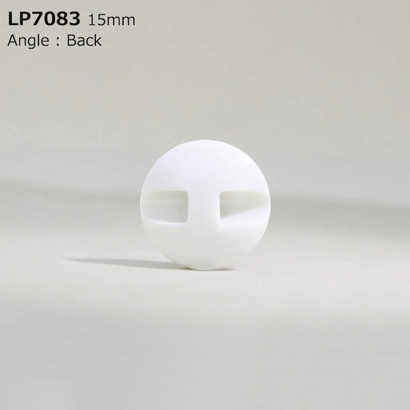 LP7083 カゼイン樹脂 トンネル足ボタン  4サイズ1色展開