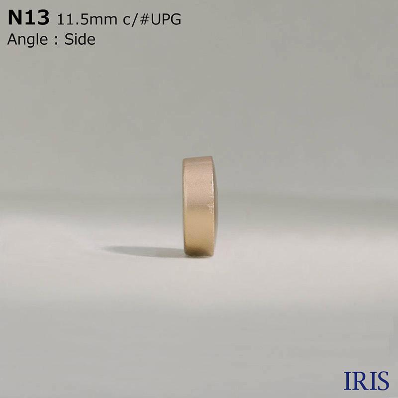 N13 ABS樹脂 表穴4つ穴ボタン  3サイズ7色展開