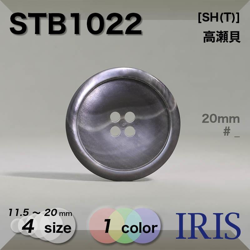 STB1022 高瀬貝 表穴4つ穴ボタン  4サイズ1色展開