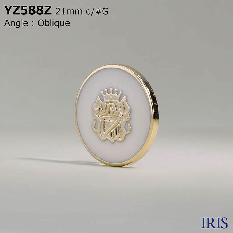 YZ588Z エポキシ樹脂/ABS樹脂 角カン足ボタン  5サイズ1色展開