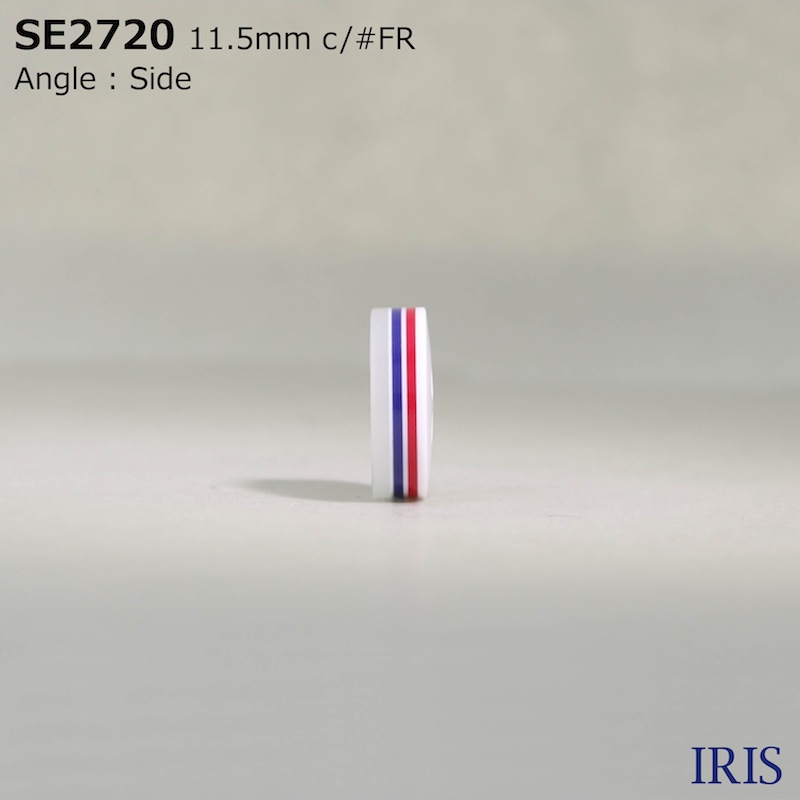 SE2720 ポリエステル樹脂 表穴4つ穴ボタン  3サイズ1色展開