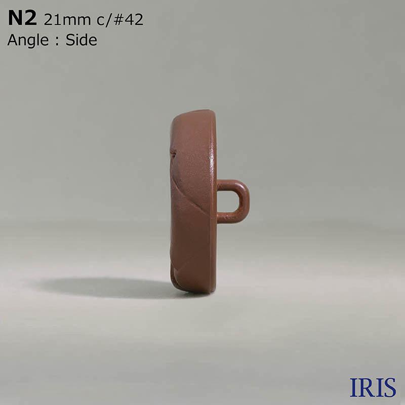 N2 ナイロン樹脂 角カン足ボタン  6サイズ5色展開