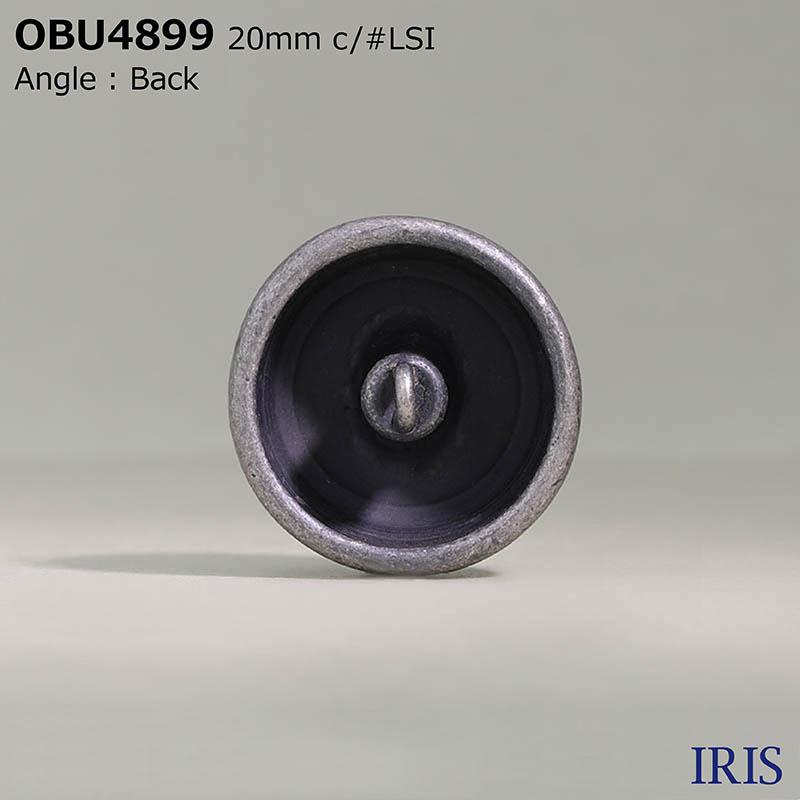 OBU4899 ハイメタル 半丸カン足ボタン  4サイズ4色展開