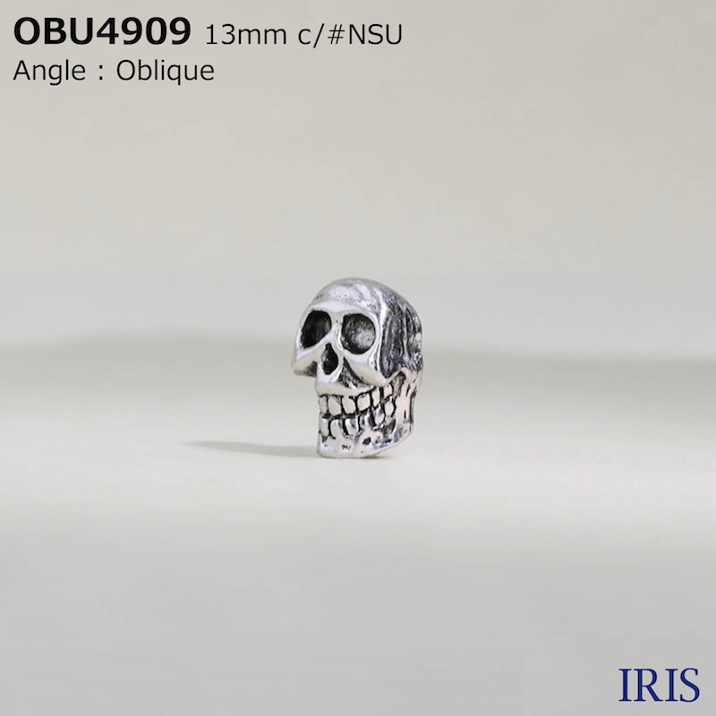 OBU4909 キャスト 半丸カン足ボタン  1サイズ2色展開