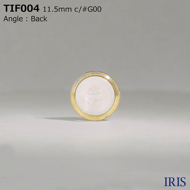 TIF004 アクリル樹脂 角足ボタン  1サイズ4色展開