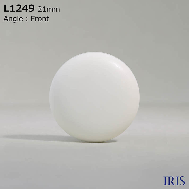 L1249 カゼイン樹脂 トンネル足ボタン  11サイズ1色展開