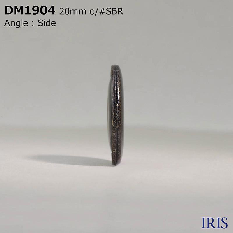 DM1904 ハイメタル 表穴4つ穴ボタン  5サイズ7色展開