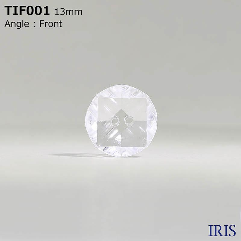 TIF001 アクリル樹脂 その他ボタン  2サイズ2色展開