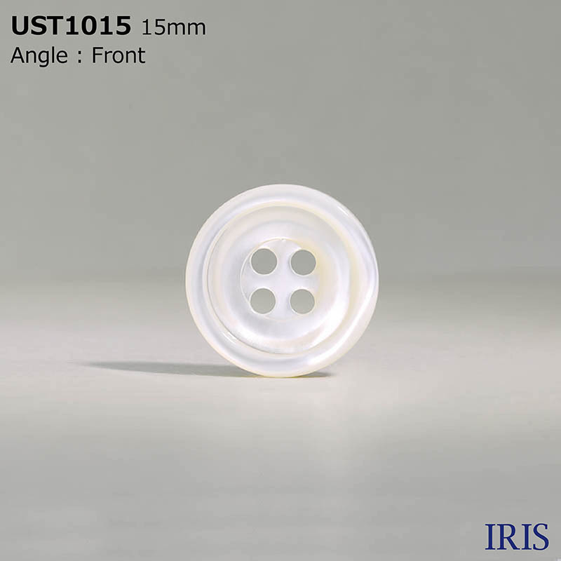 UST1015 高瀬貝 表穴4つ穴ボタン  4サイズ1色展開