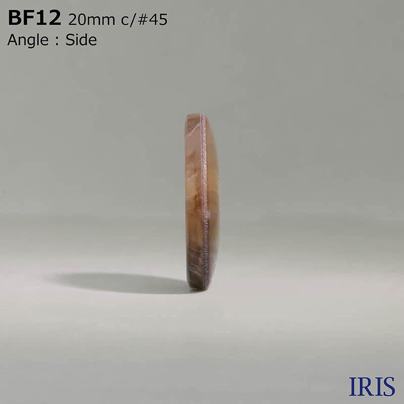 BF12 ユリア樹脂 表穴4つ穴ボタン  6サイズ19色展開