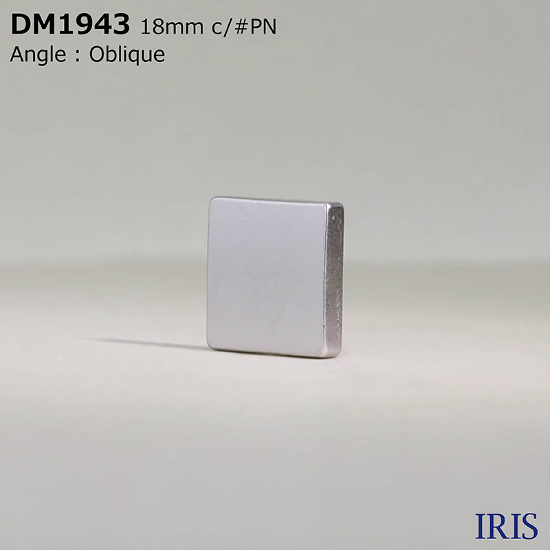 DM1943 ダイカスト 半丸カン足ボタン  3サイズ3色展開