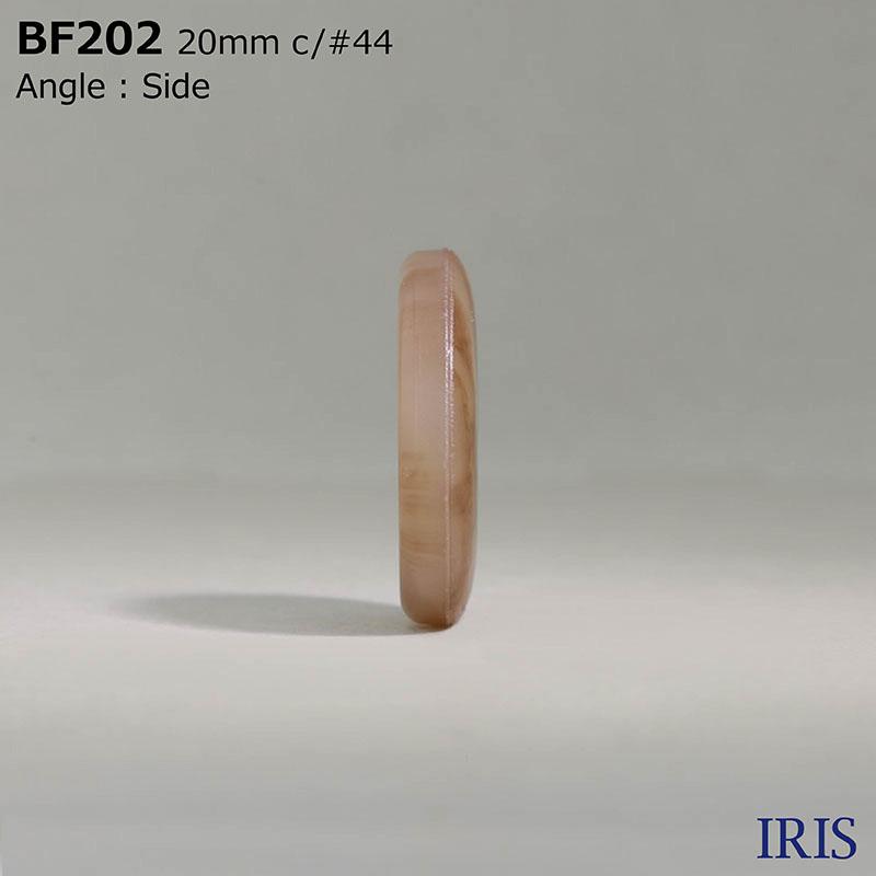 BF202 ユリア樹脂 表穴4つ穴ボタン  6サイズ23色展開