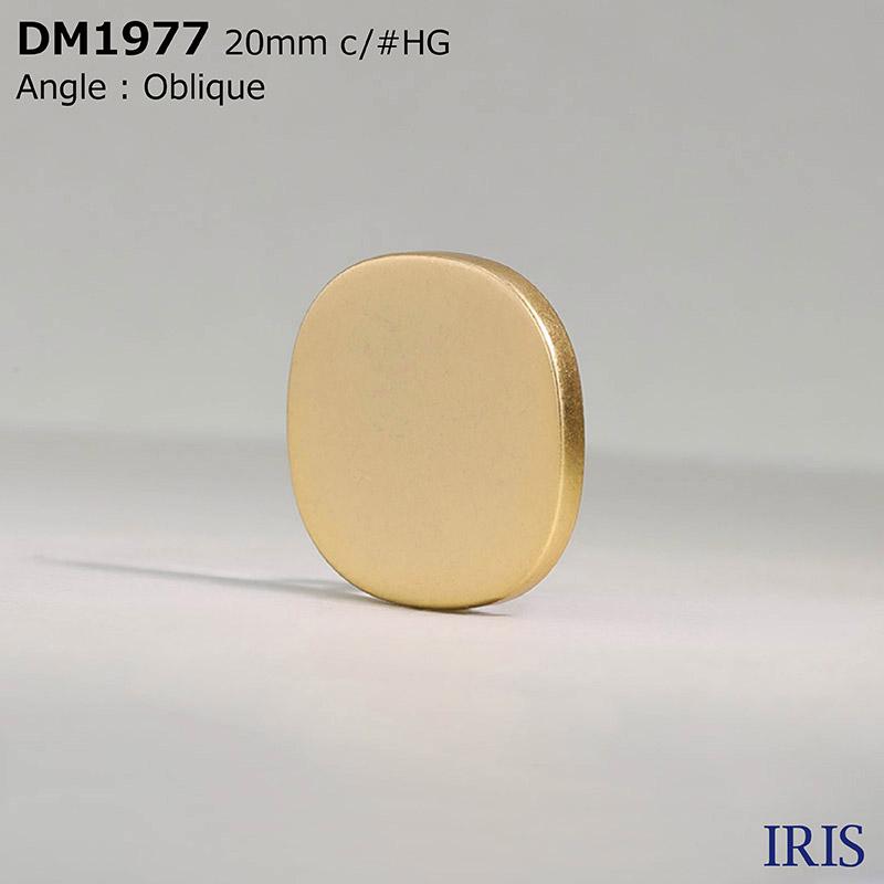 DM1977 ダイカスト 丸カン足ボタン  4サイズ5色展開