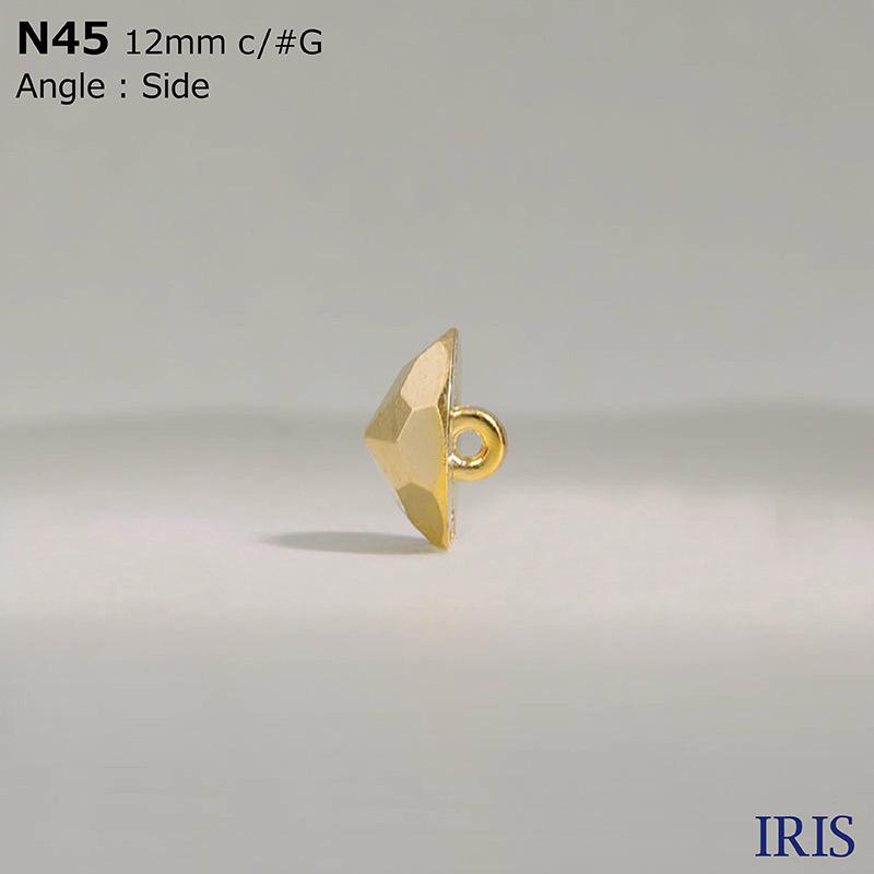N45 ABS樹脂/ナイロン樹脂/ナイロン樹脂 丸カン足ボタン  2サイズ8色展開