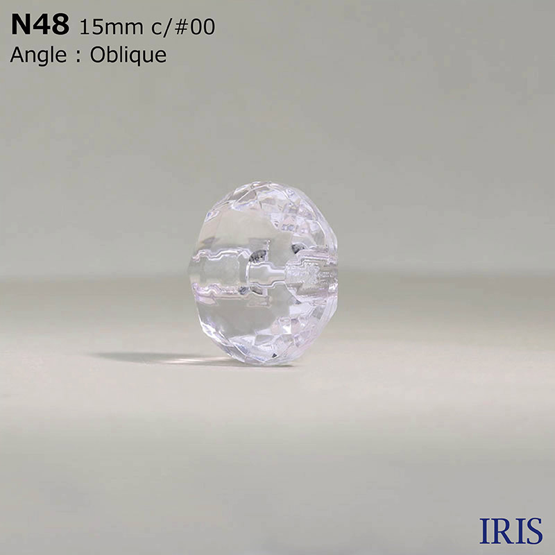 N48 ナイロン樹脂 トンネル足ボタン  4サイズ3色展開