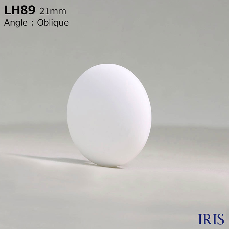 LH89 カゼイン樹脂 角足ボタン  6サイズ1色展開