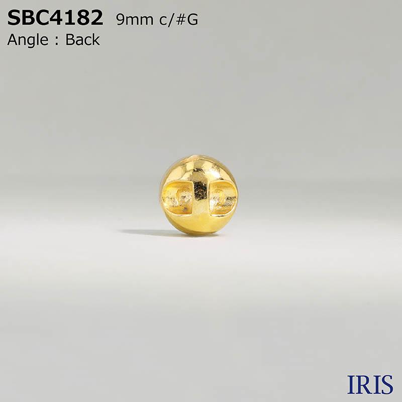 SBC4182 ガラス/ハイメタル トンネル足ボタン  1サイズ2色展開