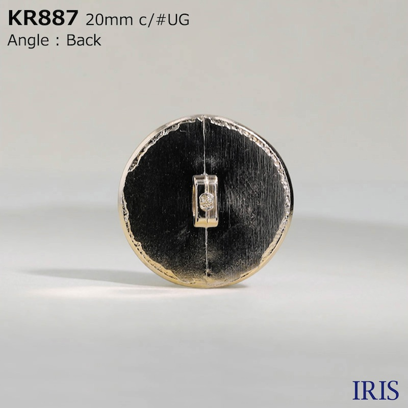 KR887 ABS樹脂 角足ボタン  3サイズ5色展開