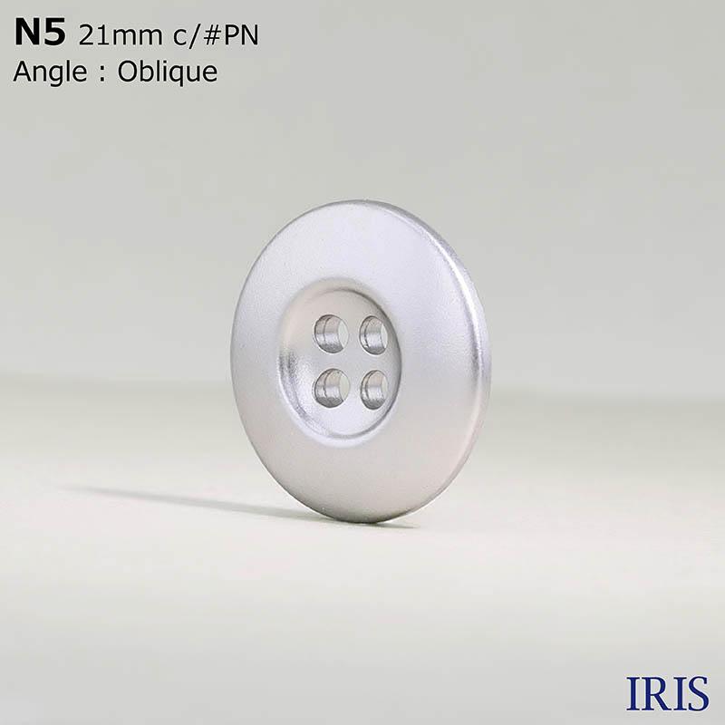 N5 ABS樹脂 表穴4つ穴ボタン  8サイズ9色展開