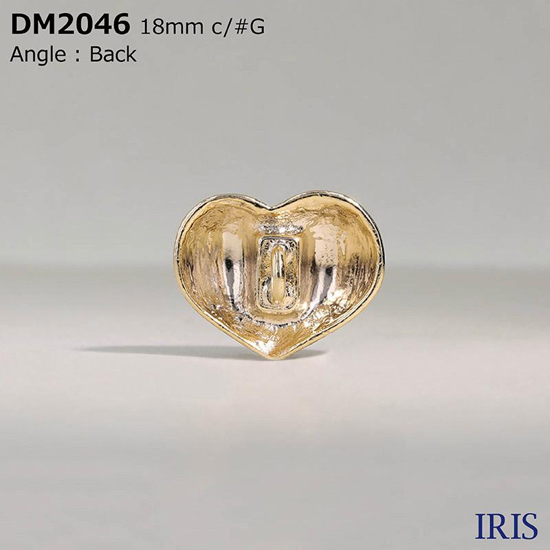 DM2046 ハイメタル 丸カン足ボタン  2サイズ4色展開