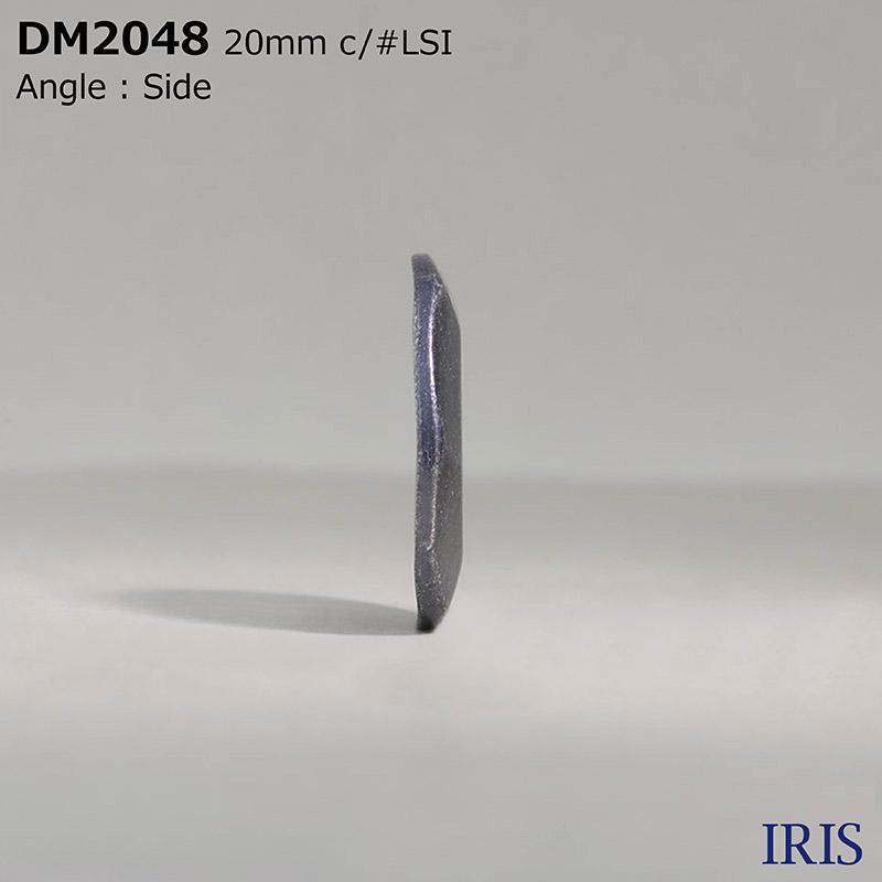 DM2048 ハイメタル 表穴4つ穴ボタン  4サイズ4色展開