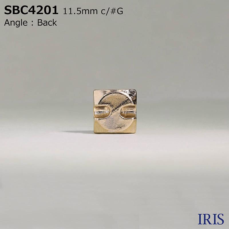 SBC4201 ガラス/ハイメタル トンネル足ボタン  1サイズ3色展開