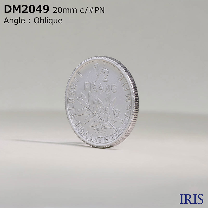 DM2049 ダイカスト 丸カン足ボタン  4サイズ2色展開