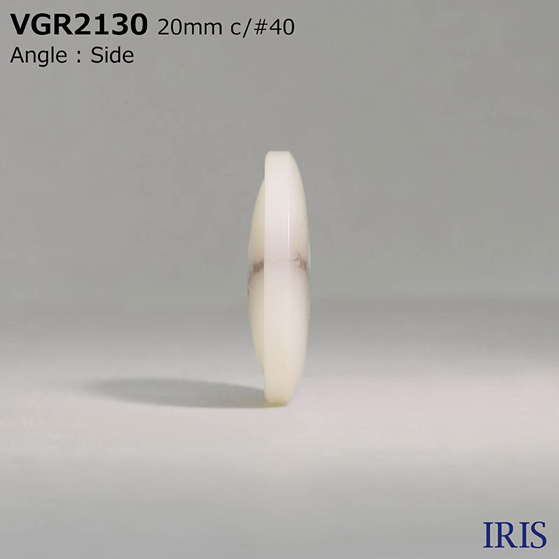 VGR2130 ポリエステル樹脂 表穴4つ穴ボタン  3サイズ6色展開