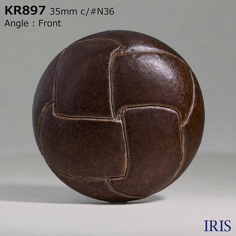 KR897 アクリル樹脂 トンネル足ボタン  1サイズ5色展開