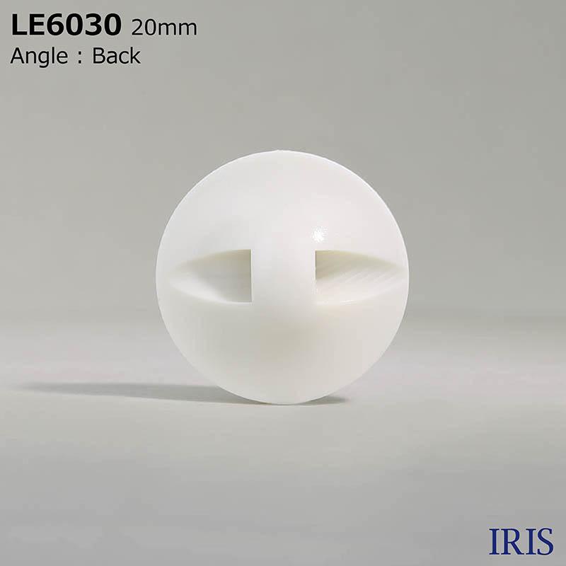LE6030 カゼイン樹脂 トンネル足ボタン  6サイズ1色展開