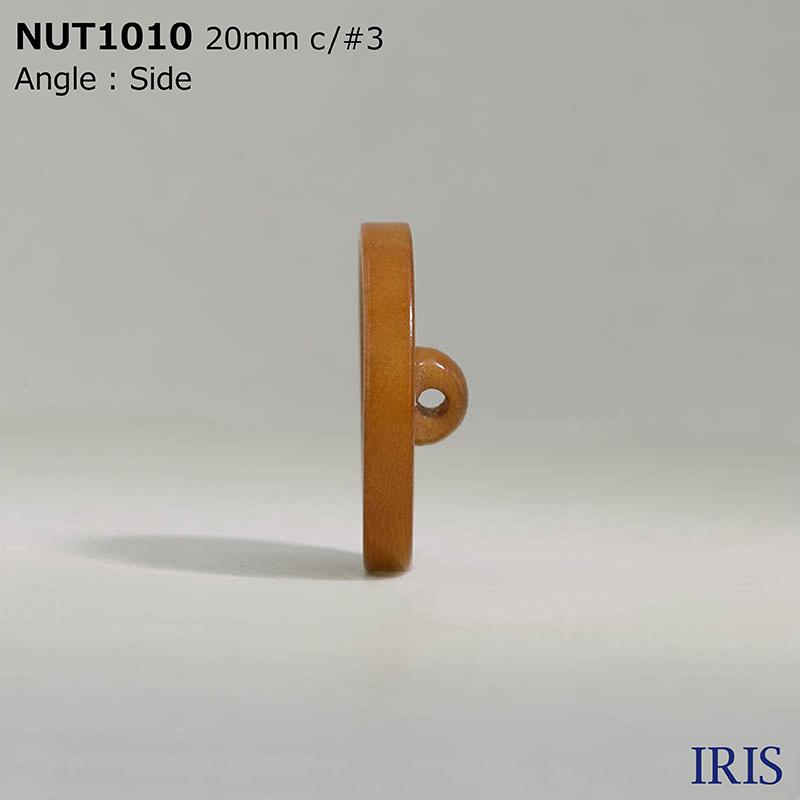 NUT1010 ナット トンネル足ボタン  5サイズ7色展開