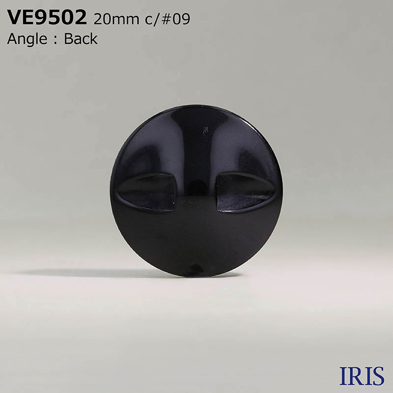 VE9502 ポリエステル樹脂 トンネル足ボタン  4サイズ2色展開
