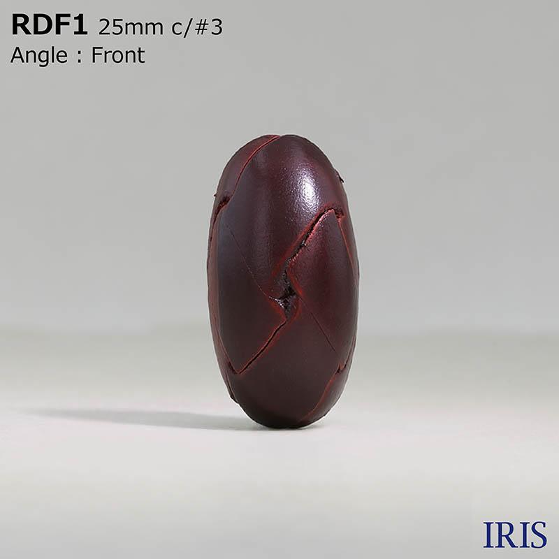 RDF1 皮革 丸カン足ボタン  2サイズ3色展開