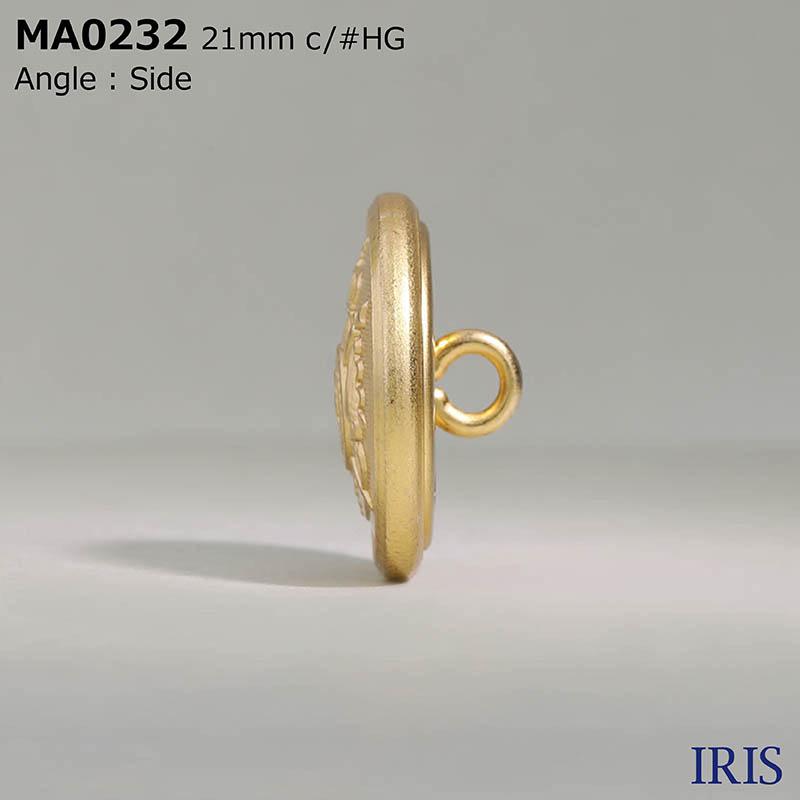 MA0232 真鍮 丸カン足ボタン  4サイズ3色展開