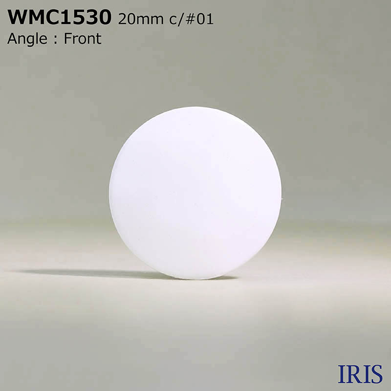 WMC1530 真鍮 半丸カン足ボタン  5サイズ2色展開