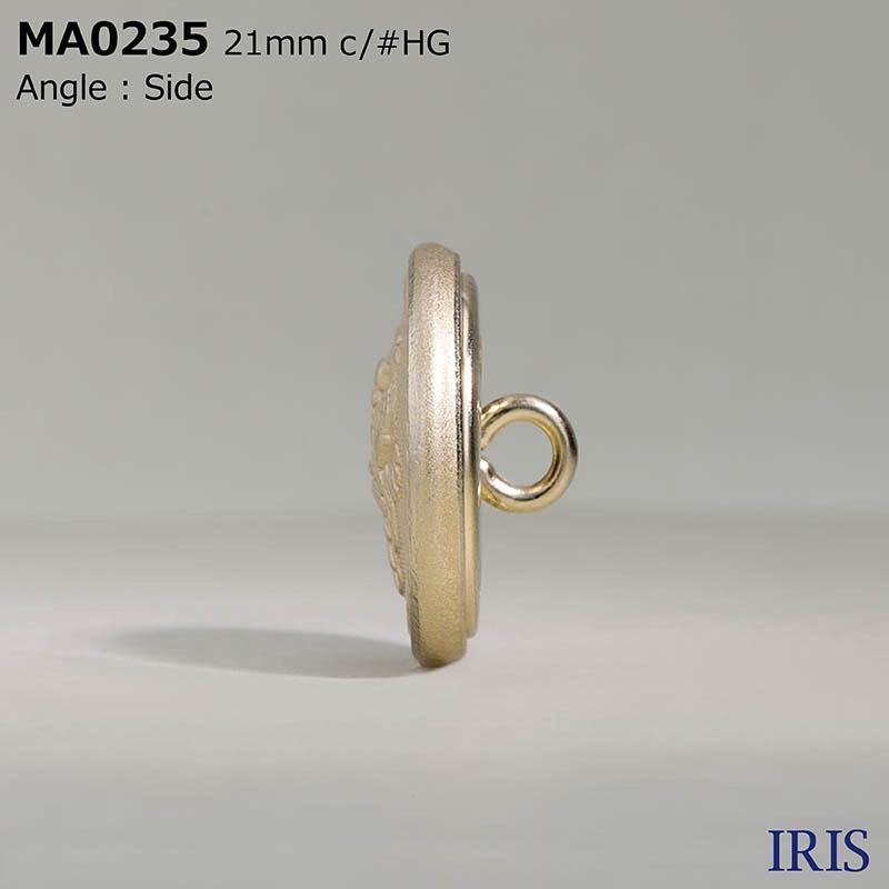 MA0235 真鍮 丸カン足ボタン  4サイズ1色展開