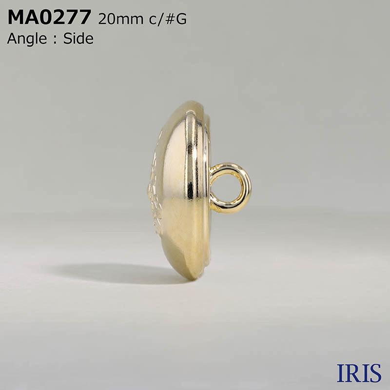 MA0277 真鍮 丸カン足ボタン  4サイズ1色展開