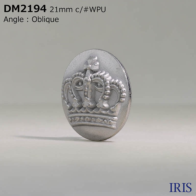 DM2194 ダイカスト 丸カン足ボタン  5サイズ4色展開