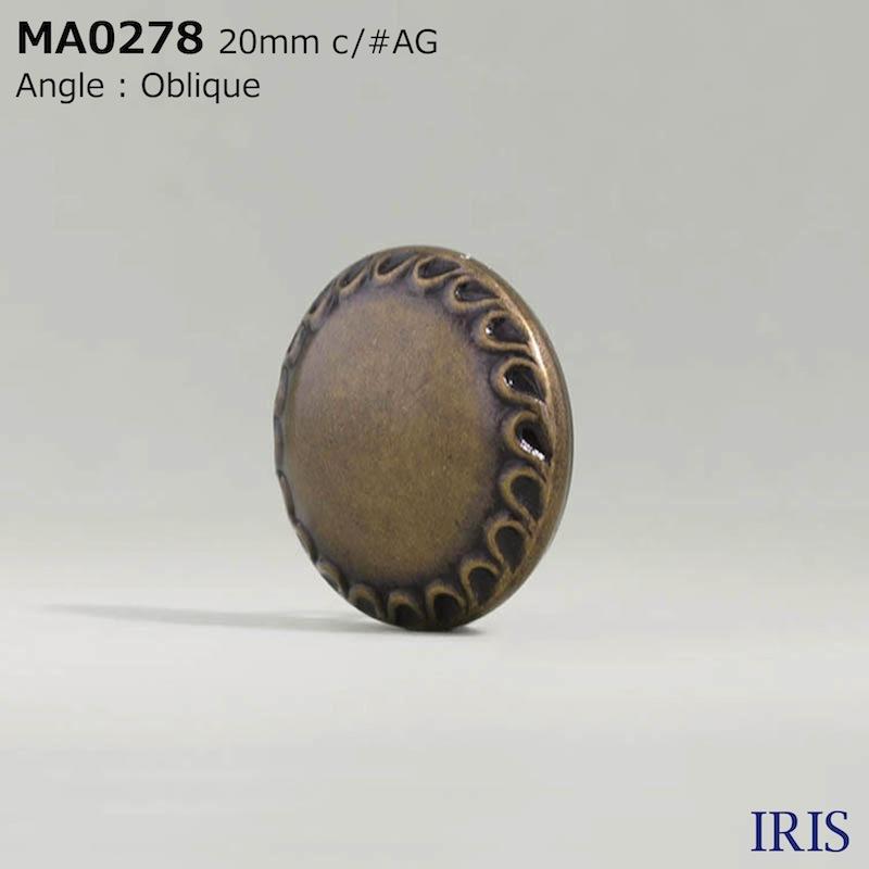 MA0278  その他ボタン  4サイズ3色展開