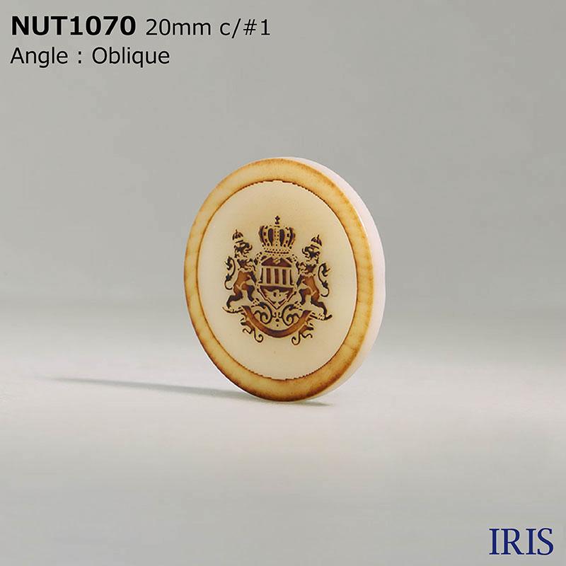 NUT1070 ナット トンネル足ボタン  4サイズ12色展開