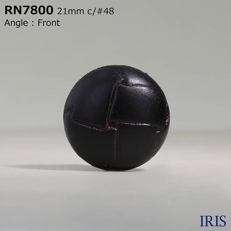 RN7800 ナイロン樹脂 角カン足ボタン  6サイズ5色展開