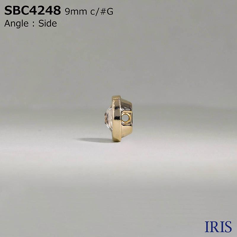SBC4248 ガラス/ダイカスト トンネル足ボタン  1サイズ10色展開