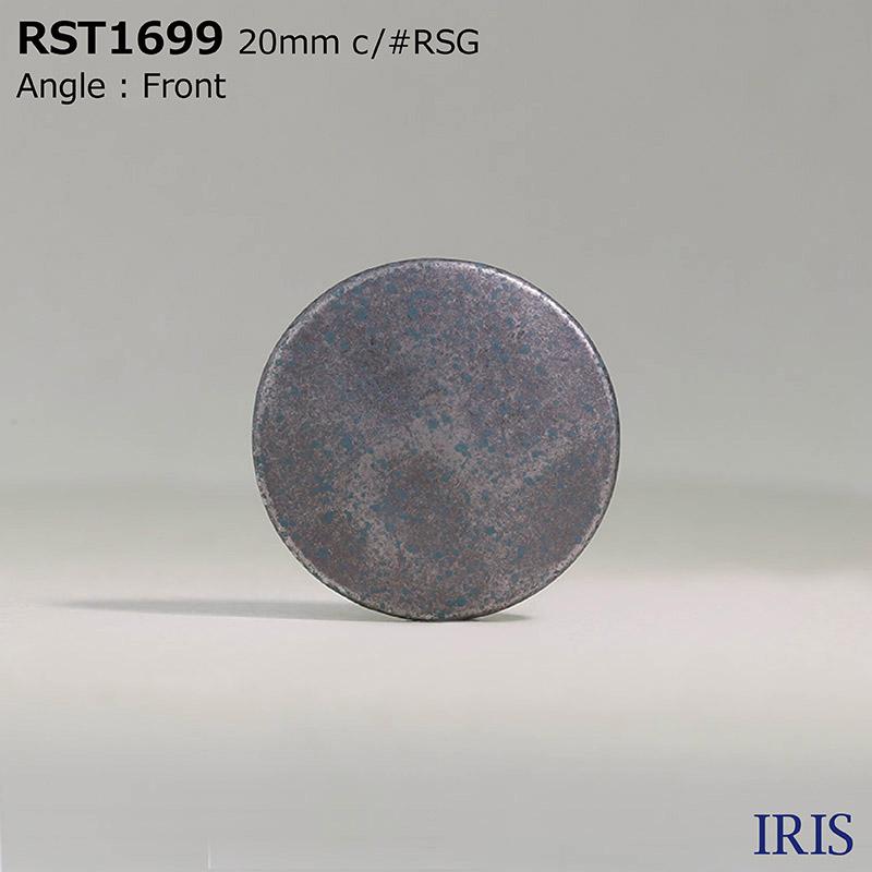 RST1699 ハイメタル 半丸カン足ボタン  4サイズ3色展開