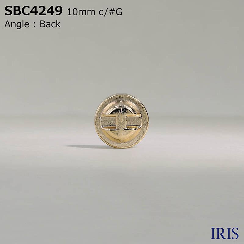 SBC4249 ガラス/ダイカスト トンネル足ボタン  1サイズ3色展開