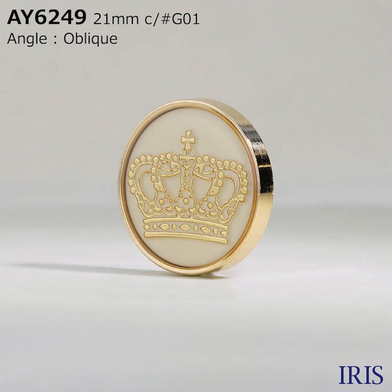 AY6249 エポキシ樹脂/ABS樹脂/ABS樹脂 トンネル足ボタン  6サイズ4色展開