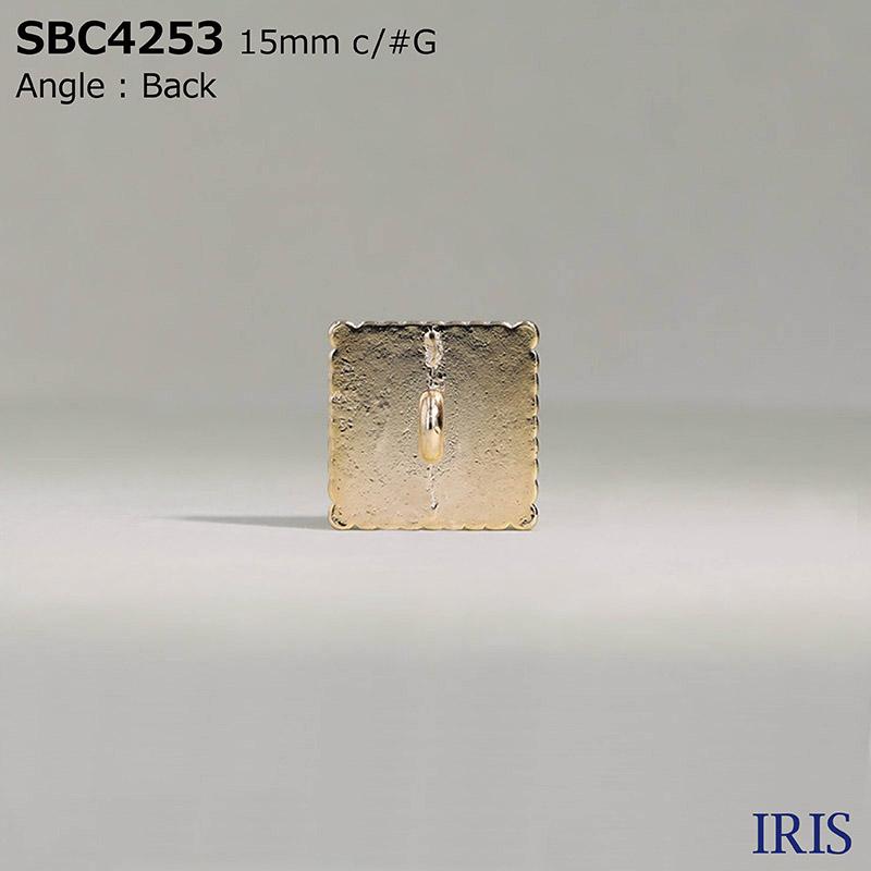 SBC4253 エポキシ樹脂/ダイカスト 丸カン足ボタン  3サイズ2色展開