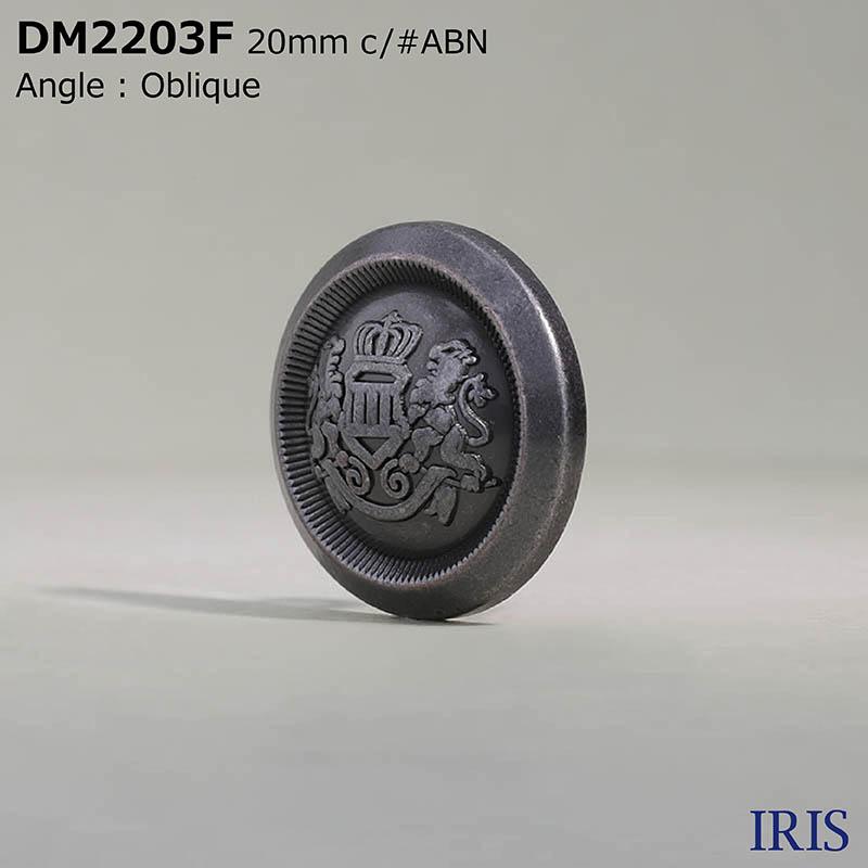 DM2203F ダイカスト 丸カン足ボタン  4サイズ3色展開